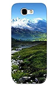 For Galaxy Note 2 Fashion Design Spring In The Mountains Case-HmfBgth1893VWtrS / Cover Specially Made For Thanksgiving Day's Gift