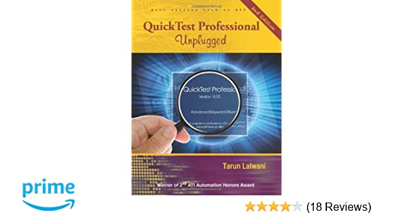 quicktest professional unplugged 2nd edition by tarun lalwani