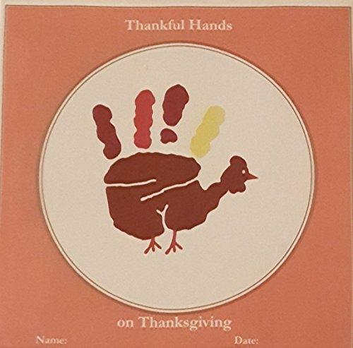 Child To Cherish Thankful Hands Turkey Handprint (Turkey Hand Craft)