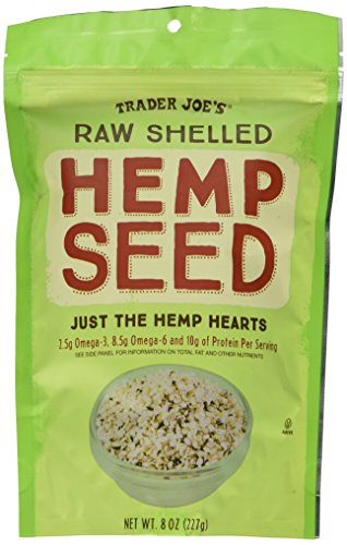 Trader Joe's Raw Shelled Hemp Seed - 8 Oz