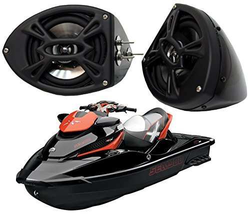 Sea-Doo Pwc Jet Ski Marine Audio Kicker Ks525 Custom 5 1/4
