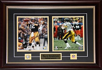 new product 8955f f5789 Amazon.com : Midway Memorabilia Terry Bradshaw Pittsburgh ...