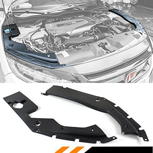 Fits for 2016-2019 10TH Gen Honda Civic Engine Bat Side Panel Covers Pair - Long Version