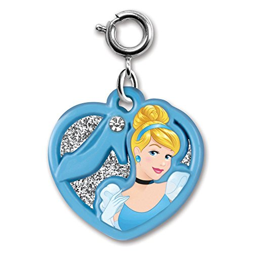 Cinderella Heart Charm - CHARM IT! Cinderella Swivel Heart Charm