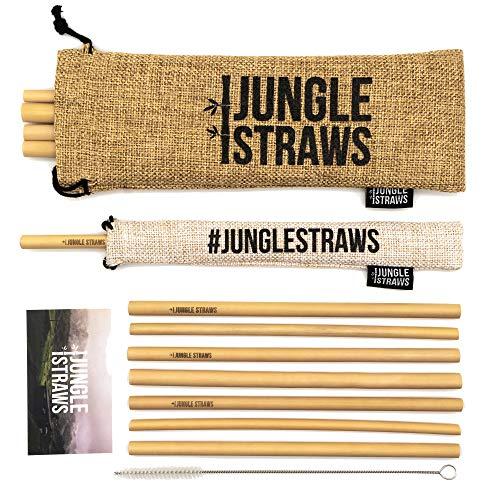 Jungle Straws   Reusable Bamboo Drinking Straws 8