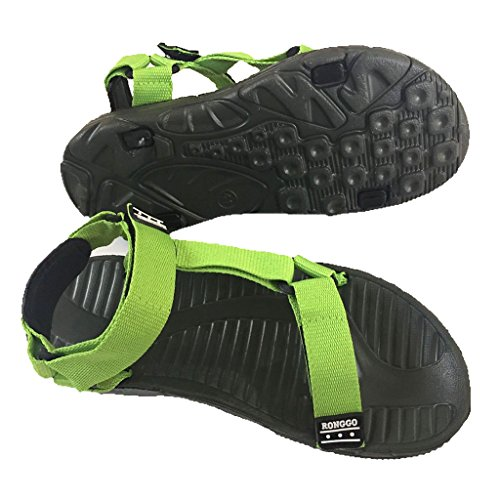 SiamSiri Universal Outdoor Water Sandal for Men Women Sport Walking Trekking Summer Footwear Green 0eDx9hKax