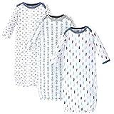 Luvable Friends Unisex Baby Cotton Gowns, Boy