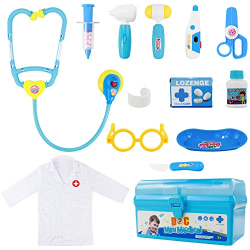 Medical Doctor Costumes - Fajiabao Doctor Kit for Kids with