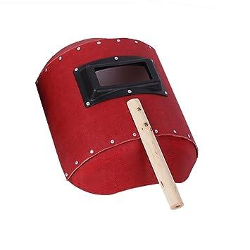 qees mano soldadura casco Protector Facial economía Arc soldador máscara de cristal resistente al agua carcasa