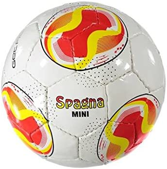 GETFIT Mini pelota de fútbol - Tamaño 1 - Bandera España: Amazon.es: Deportes y aire libre