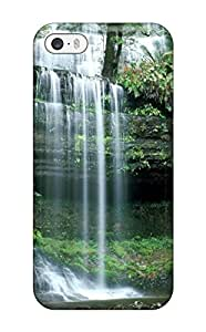 9370346K71982194 Hot Style Protective Case Cover For ipodtouch5(russell Falls Mount Field National Park Tasmania)