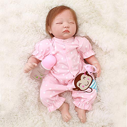 Wamdoll 21 inch A Moment in My Arms, Forever in My Heart Sleepy Reborn Baby Doll