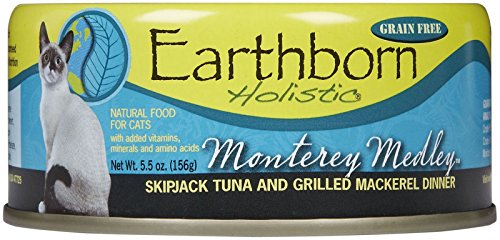 (Earthborn Holistic Monterey Medley Grain Free Canned Cat Food, 5.5 Oz, Case Of 24)