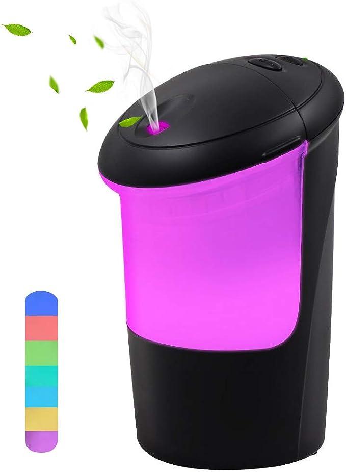 COOLEAD Humidificador Coche USB Ambientador Casa Aroma Difusor de ...