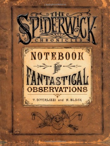 Download Notebook for Fantastical Observations (The Spiderwick Chronicles) pdf epub