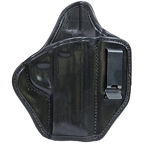 26768 Bianchi, 145 Allusion Subdue IWB Holster, Smith&Wesson M&P 9/40, Right Hand, Black