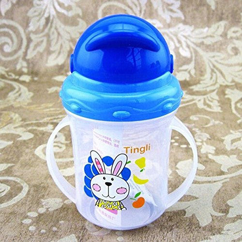 Cloudga Diaper Drinking Drawing Handles Cup Bottle Sippy ()