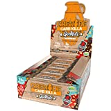 Grenade Carb Killa Go Nuts Vegan Chocolate Nut Bar | 10g High Protein Snack | Low Net Carb Low Sugar | Non-GMO Gluten Free Energy Bars | Salted Peanut 15 Pack