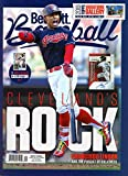 Beckett Baseball Monthly Price Guide Magazine April 2019 Indians' Francisco Lindor