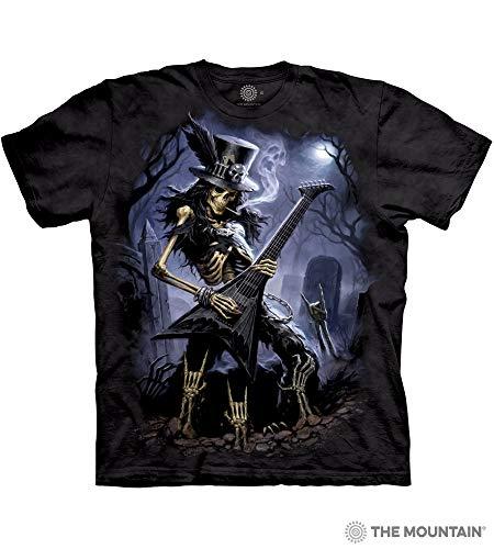 The Mountain Play Dead Adult T-Shirt, Black, Medium]()