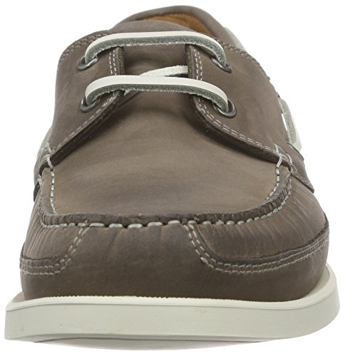 cuir Argent en Pewter Chaussures Mephisto Grizzly bateau Sx6gIwZPq