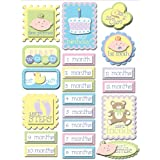 K&Company Baby First Grand Adhesions Stickers