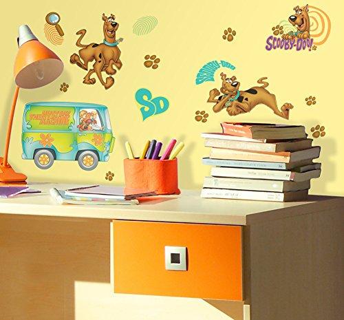 Scooby Doo Peel & Stick Wall Decals 10 x 18in
