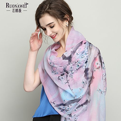 Pink Flamingo Adults Winter Warm Scarf Fashion Scarves Shawl Gift