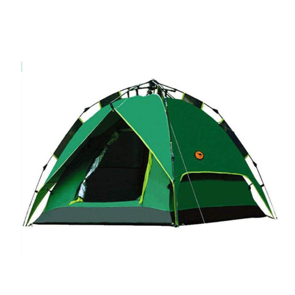 CLDBHBRK Draussen Automatisch Seil Ziehen Camping Zelt 3 4