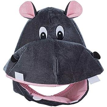 5ddbc01c7162ee Tigerdoe Hippo Hat - Animal Hat - Hippopotamus Costume - Elephant Hat -  Funny Costume Accessories - Animal Costume Hats (Hippo Hat)