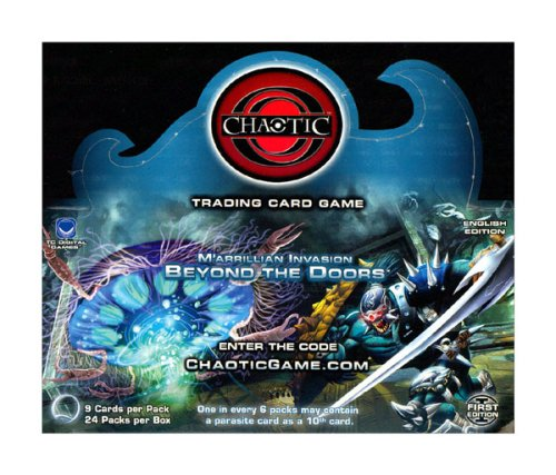 (Chaotic Card Game M'arrillian Invasion: Beyond the Doors Series 4 Booster Box (24 Packs))