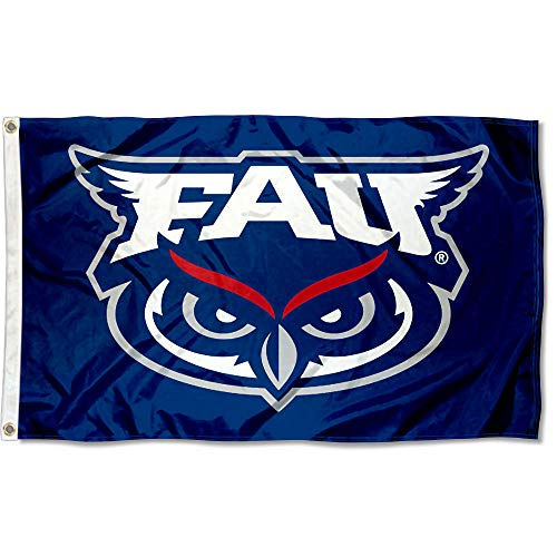 College Flags and Banners Co. Florida Atlantic Owls Flag ()