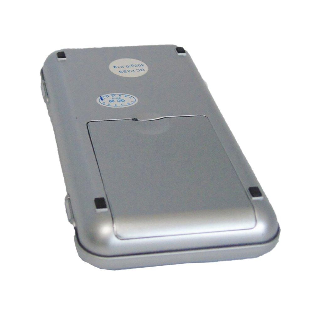 TOOGOO 200g x 0.01g Mini bascula Digital Bascula de Joya Herramientas de Peso de Bolsillo de medicion de de Alta Precision Pantalla LCD: Amazon.es: Hogar
