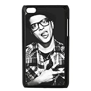YUAHS(TM) Custom Case for Ipod Touch 4 with Bruno Mars YAS122647