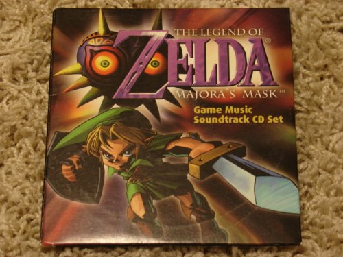 Legend of Zelda Majora's Mask 2-CD Nintendo Power Soundtrack Set