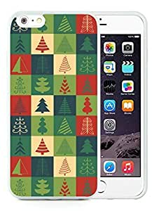 Diy iPhone 6 Plus Case,Christmas tree White iPhone 6 Plus 5.5 PC Case 21 by ruishername