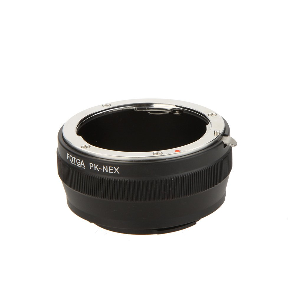 Andoer PK-NEX Adapter Digital Ring for Pentax PK K Mount Lens to Sony NEX E-Mount Camera (for Sony NEX-3 NEX-3C NEX-3N NEX-5 NEX-5C NEX-5N NEX-5R NEX-5T NEX-6 NEX-7) KRQ1426066219393D1