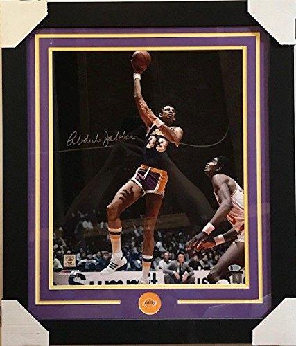 4b60163efd7 Kareem Abdul-Jabbar Autographed Signed Memorabilia 16X20 Framed Photograph  With Beckett COA Lakers