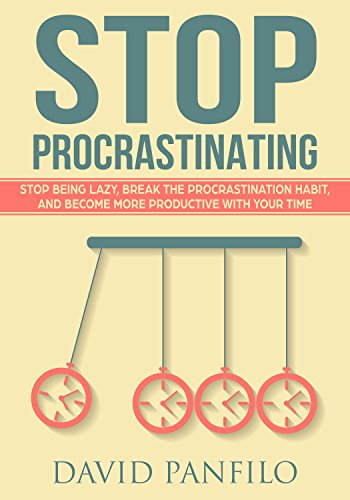 Amazon stop procrastinating stop being lazy break the stop procrastinating stop being lazy break the procrastination habit and become more productive with fandeluxe Images