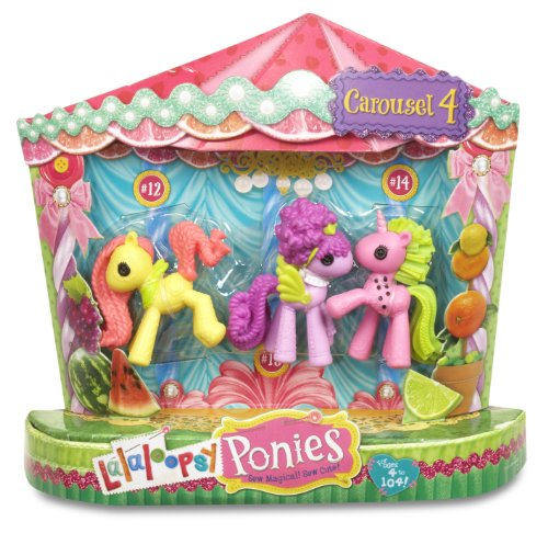 Lalaloopsy Fruit Ponies, 3-Pack