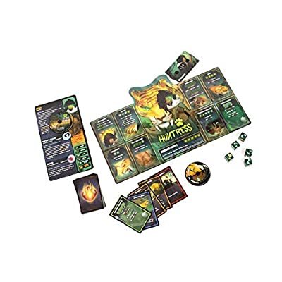 Huntress Vs Tactician -Dice Throne: Season Two Board Game: Toys & Games