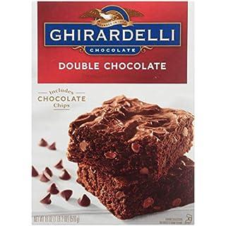 Ghirardelli Brownie Mix, Double Chocolate, 18 oz