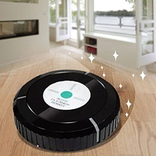 FAVOLOOK Robot Vacuum Cleaner, Automatic Cleaning Smart Robot, High Suction Floor Robotic Sweeper Tool for Pet Fur and Allergens, Designed for Hard Floor and Thin Carpet by FAVOLOOK