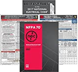 NFPA 70 2017: National Electrical Code, NEC, Paperback, NEC Fast Tabs, NEC Quick Card and Electrical Wiring Quick Card, 2017 Edition, Package