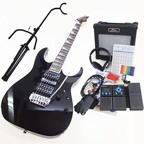 アイバニーズ Ibanez GRG170DX BKN エレキギター ZOOM G1Xon付初心者入門16点セット B00DM3KNCW
