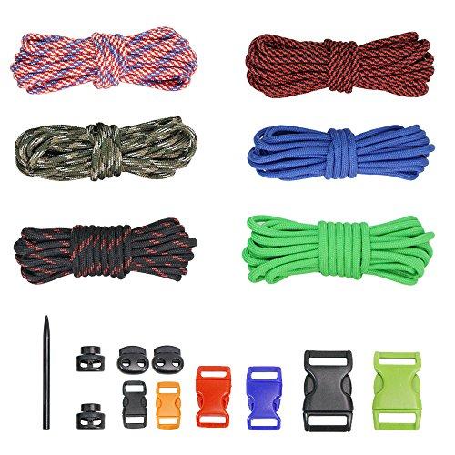 PSKOOK DIY Paracord Kits Make Bracelet Survival Parachute Co