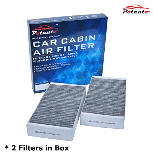 POTAUTO MAP 2007C Heavy Activated Carbon Car Cabin Air Filter Replacement compatible with MERCEDES-BENZ, G Class, GL Class, ML Class, R Class Series