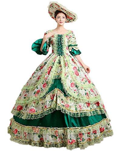 Victorian Style Dress - 5