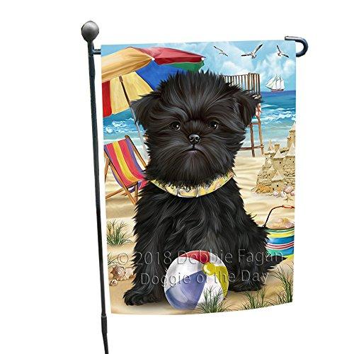 (Doggie of the Day Pet Friendly Beach Affenpinscher Dog Garden Flag GFLG49763)