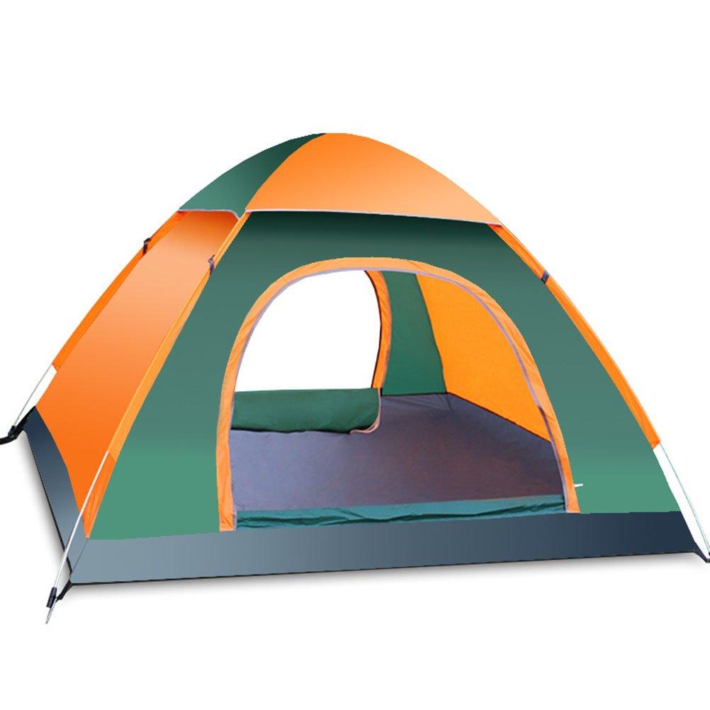 VORCOOL 3-4 Personen Automatische Faltzelte Familienzelte Strandzelt Camping Doppelte Geschwindigkeit, um Ablehnung zu öffnen